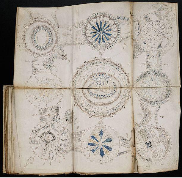 Comic book bible the voynich manuscript united states book 3382.
