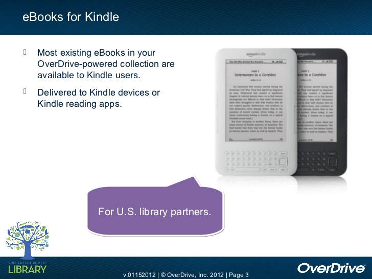 Are libraries squeezing Kindle users out of ebook services